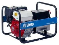 Бензиновый генератор 380В SDMO HX 5000 T-S (5.0 кВА)